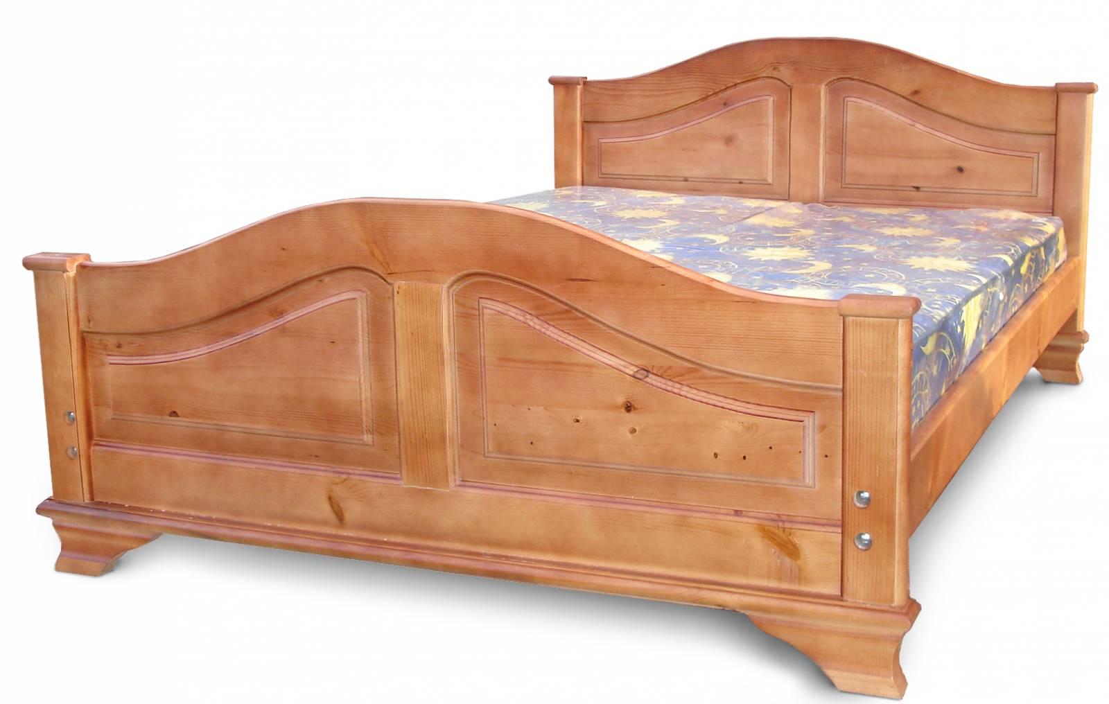 Кровать ширина 90 см натуральное дерево